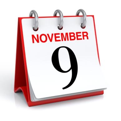 9th Nov