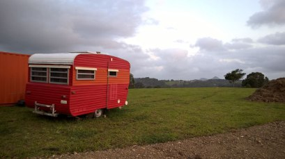 Orange Caravan