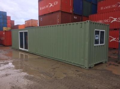 40' storage/office