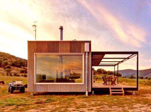 Solar Powered Modular Cabin